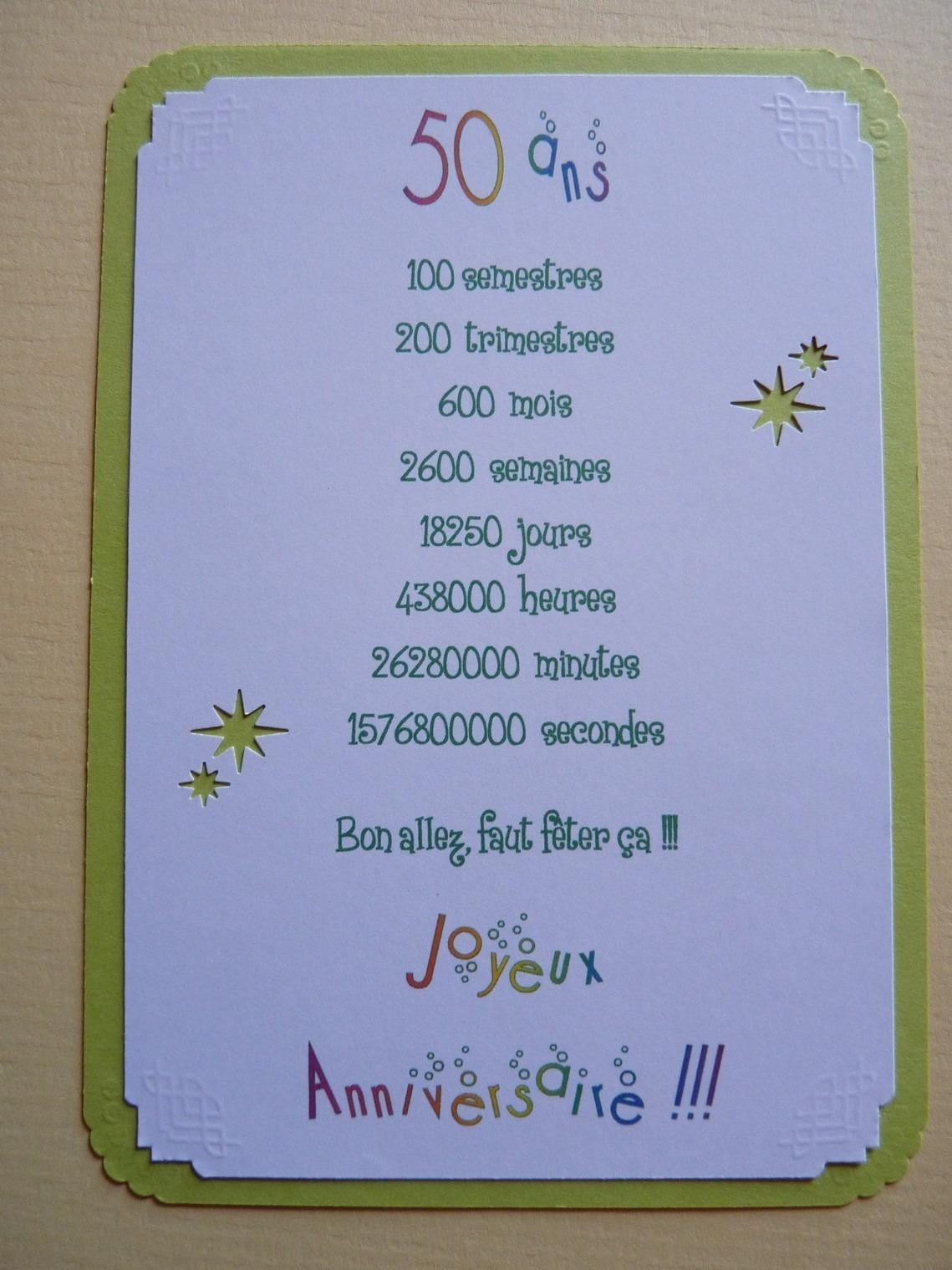 poesie 50 ans de mariage