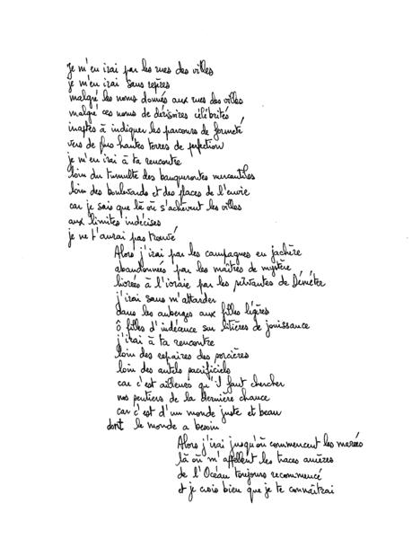 poesie 7 lettres