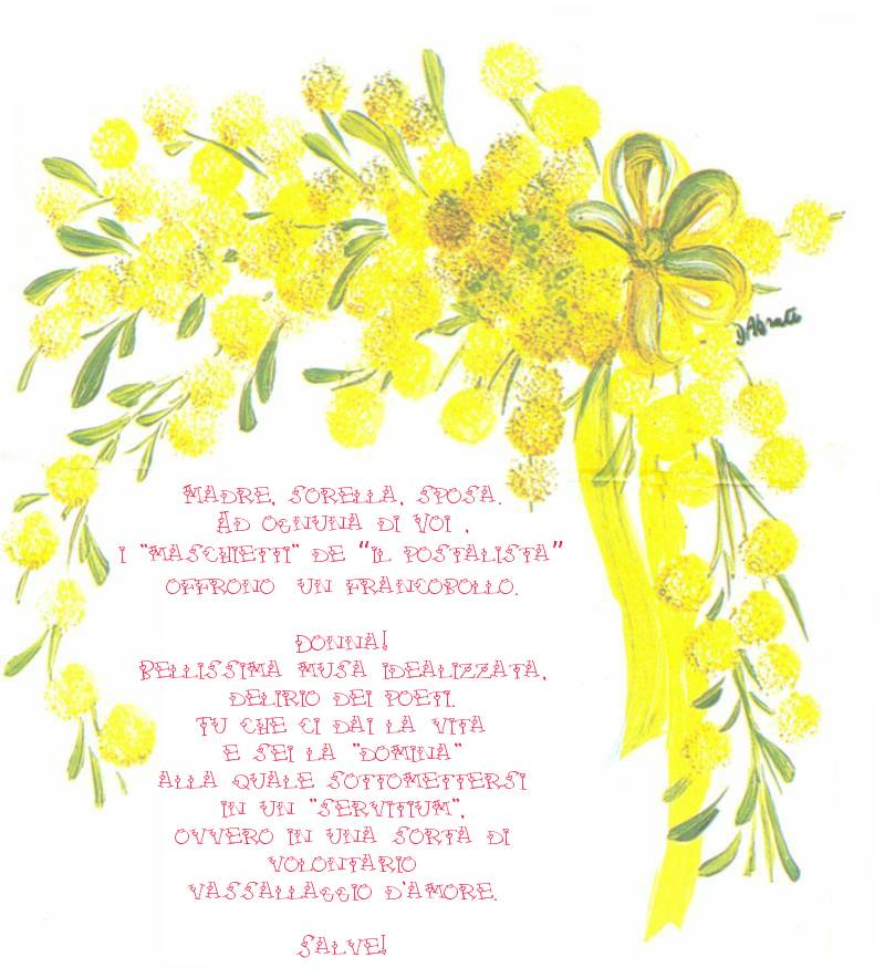 poesie 8 marzo festa delle donne