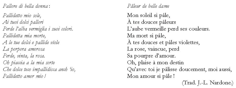 poesie 8 vers