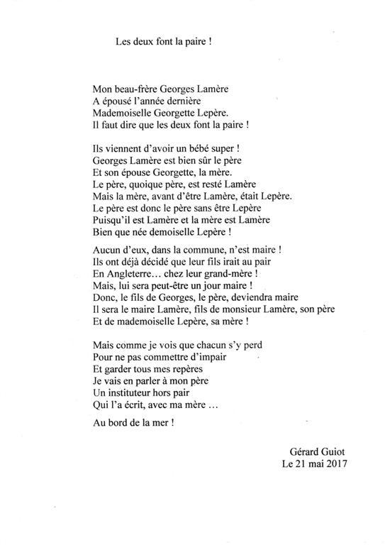 poesie 9 ans
