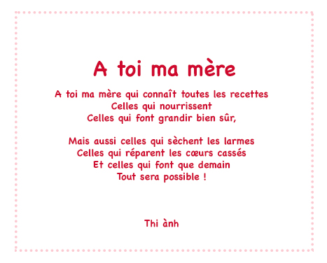 poesie a ma mere
