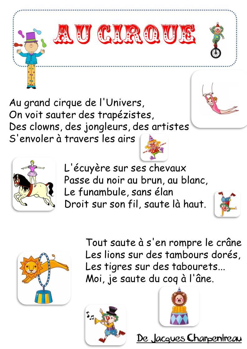 poesie au cirque