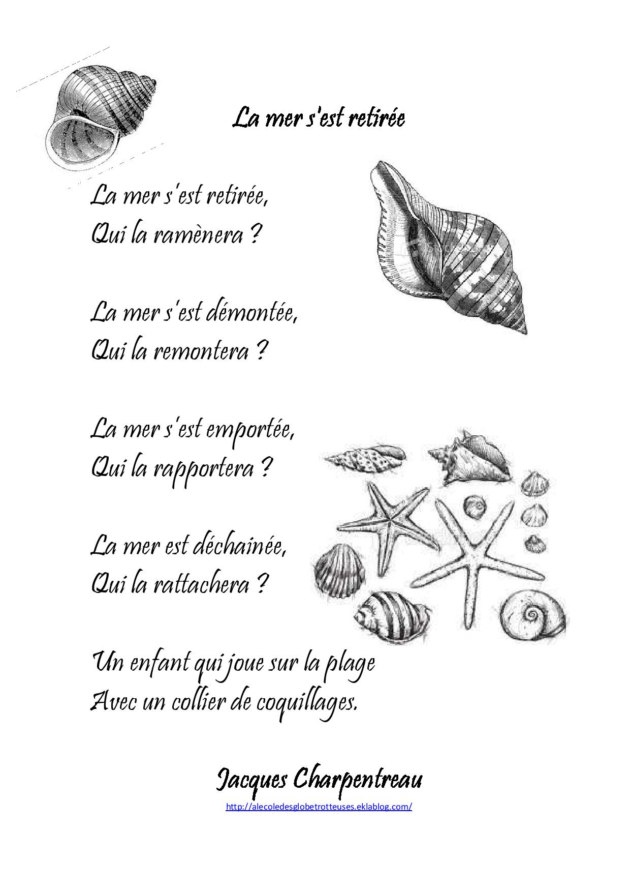 poesie avec 8 syllabes