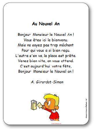 poesie bonjour