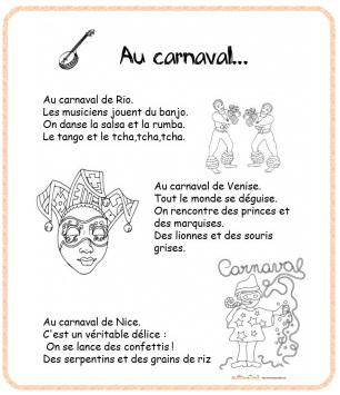 poesie carnaval