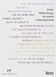 poesie contemporaine