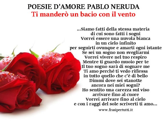 poesie d'amore famose
