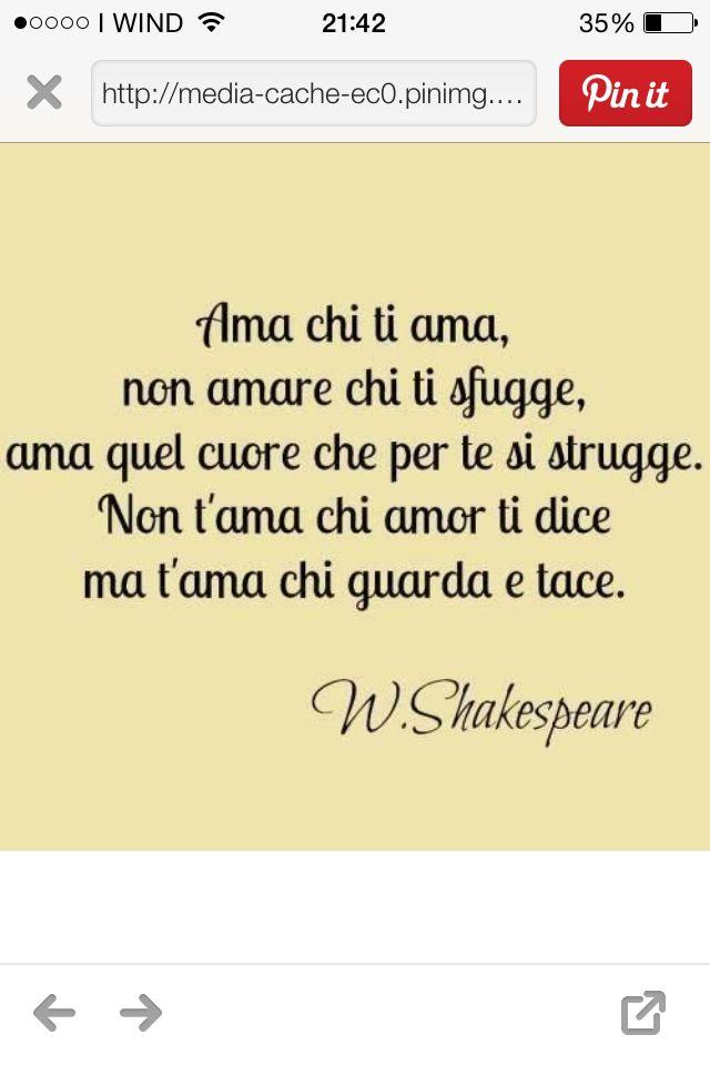 Poesie D U0026 39 Amore Shakespeare