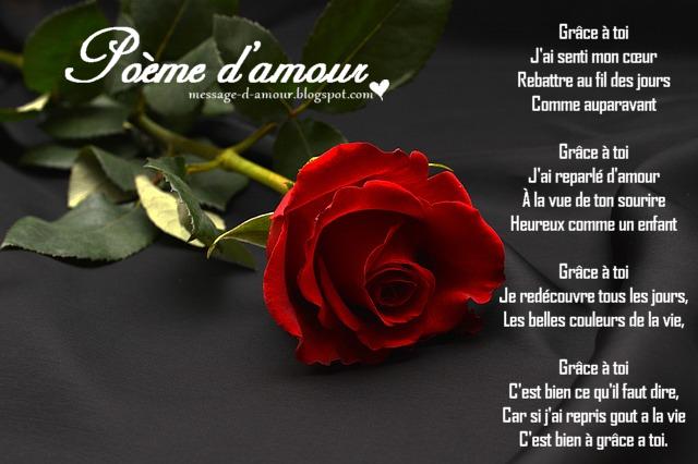 poesie d amour
