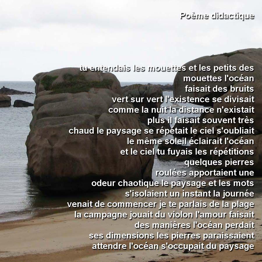 poesie didactique