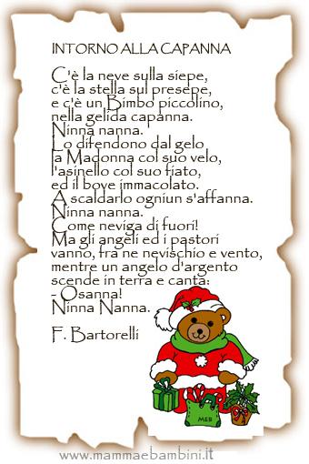 Poesie In Inglese Per Bambini Di Natale.Poesie E Filastrocche Di Natale Per La Scuola Dell Infanzia