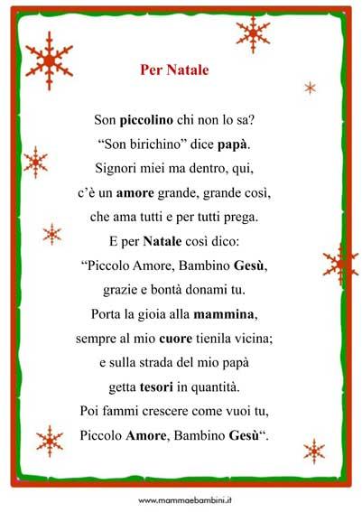 Poesie Di Natale Per Bambini Piccoli Corte.Poesie E Filastrocche Di Natale Scuola Primaria