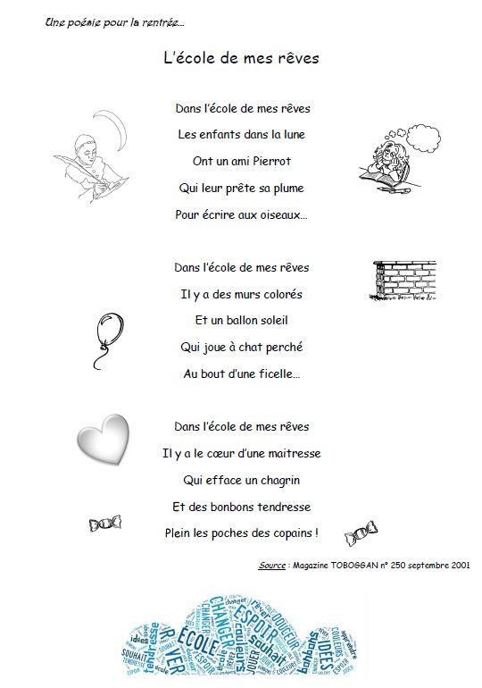 poesie en reve