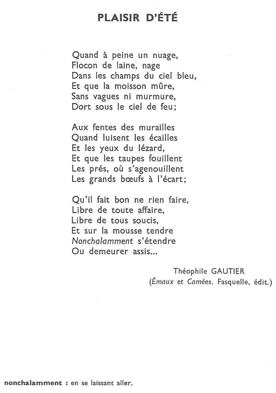 poesie ete cm1