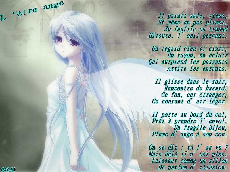 poesie etre ange