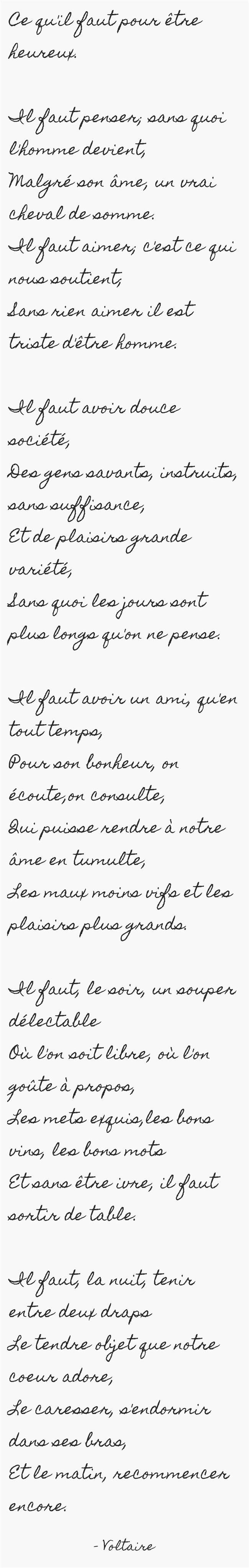 poesie etre heureux