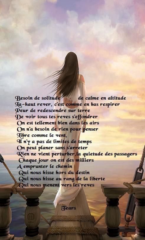 poesie etre libre