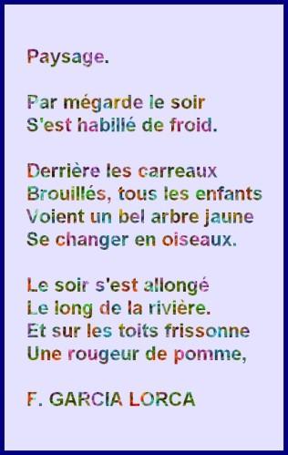 poesie f garcia lorca