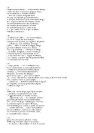 poesie fantastique