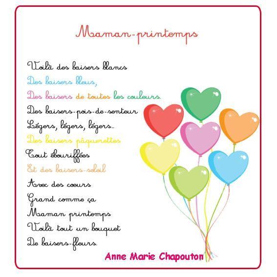 Poesie Fete Des Meres