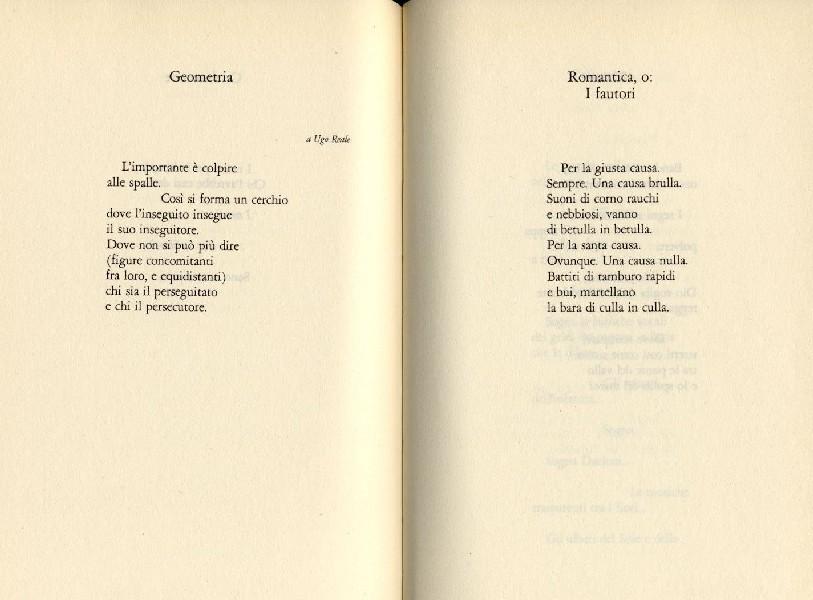 poesie g. caproni