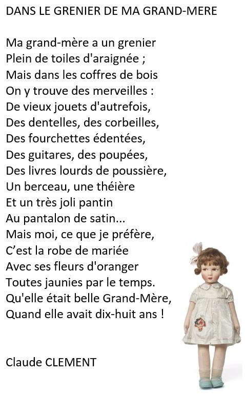 poesie grand mere