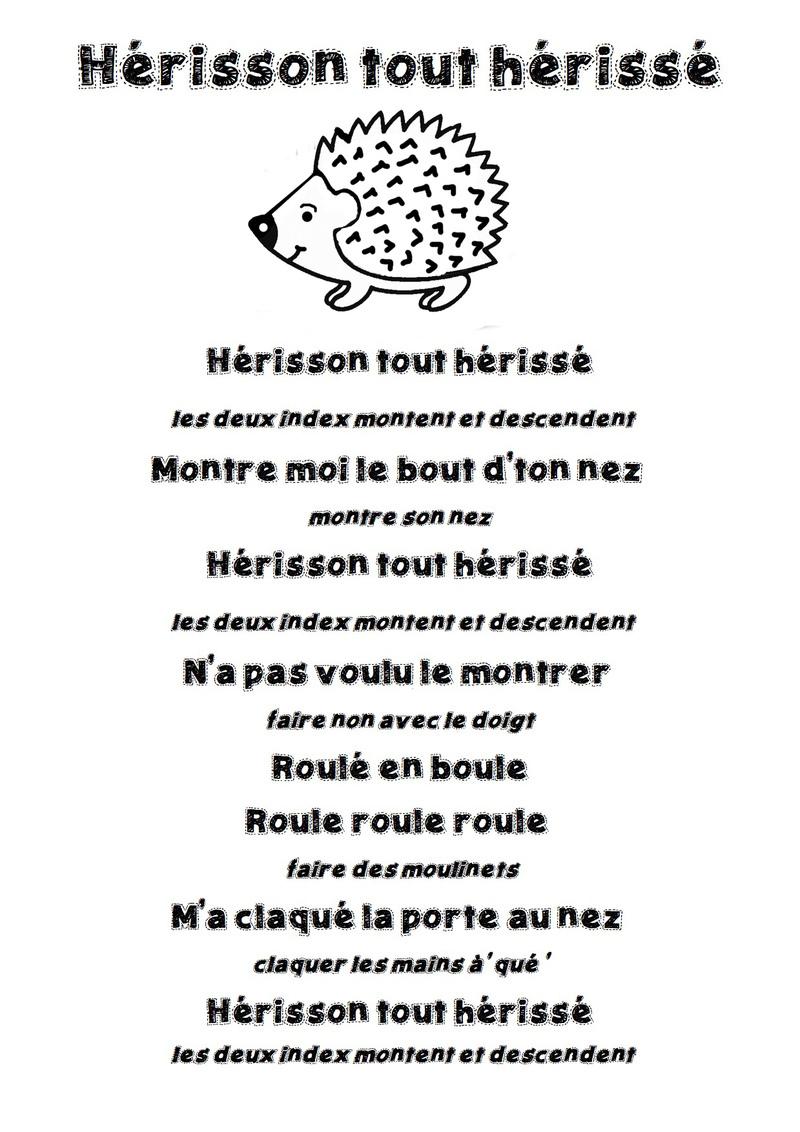 poesie herisson