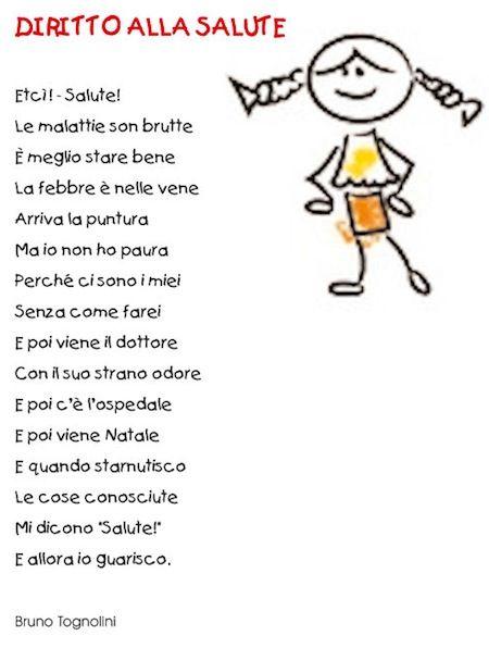 poesie i diritti dei bambini