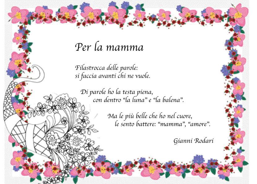 poesie i festa della mamma