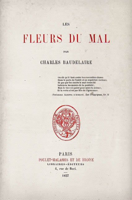 poesie i fiori del male di baudelaire