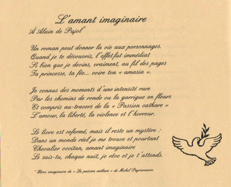 poesie imaginaire