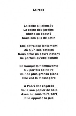 poesie inconnu