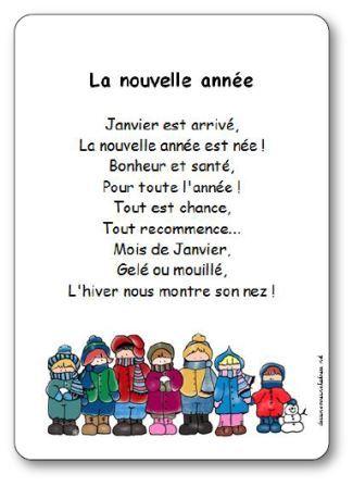 poesie janvier