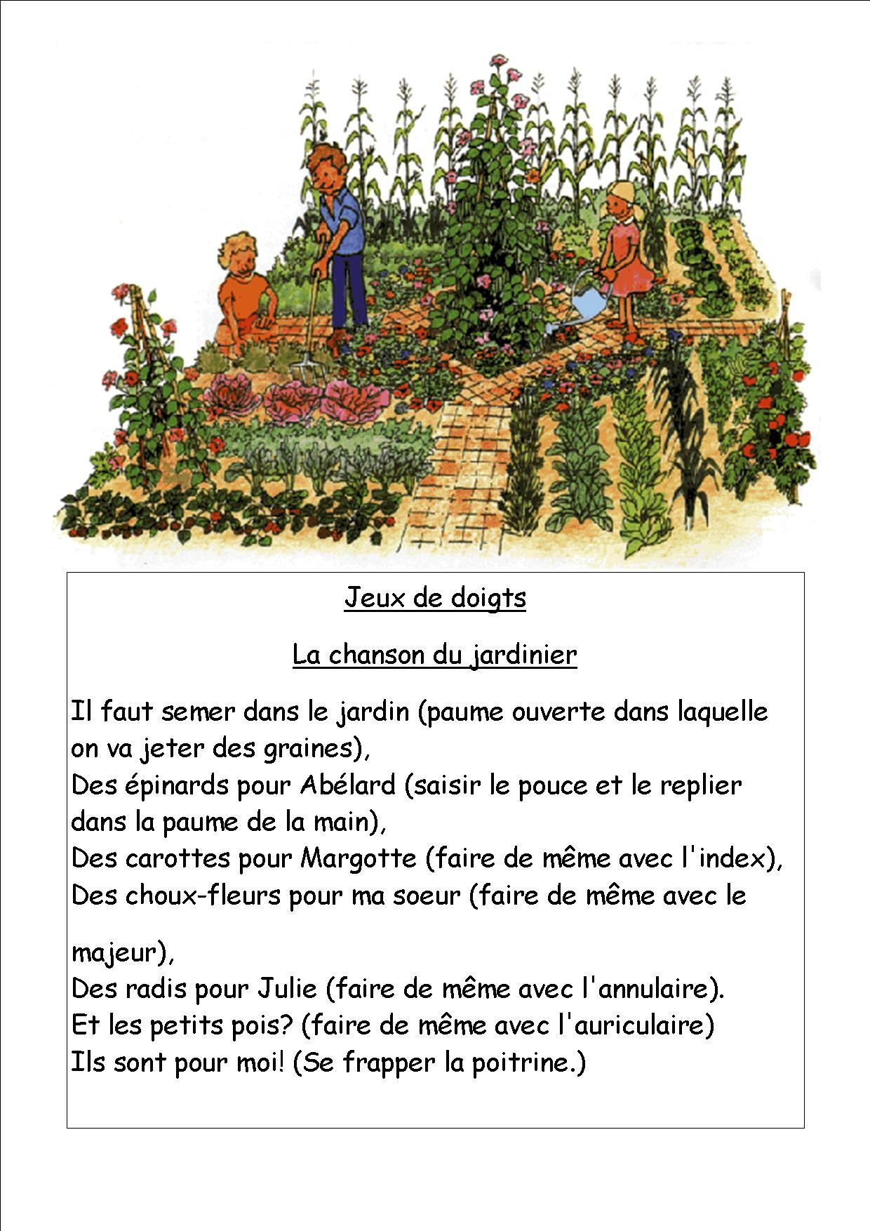 poesie jardin