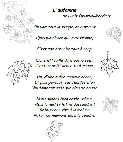 Poesie Lautomne