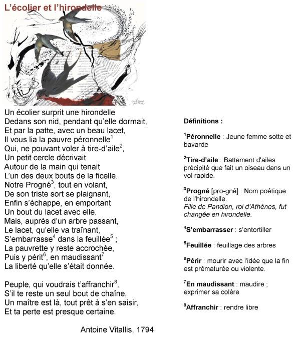 poesie l'ecolier