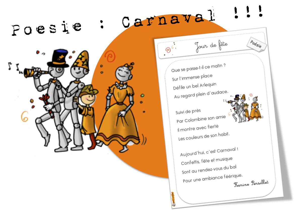 poesie le carnaval