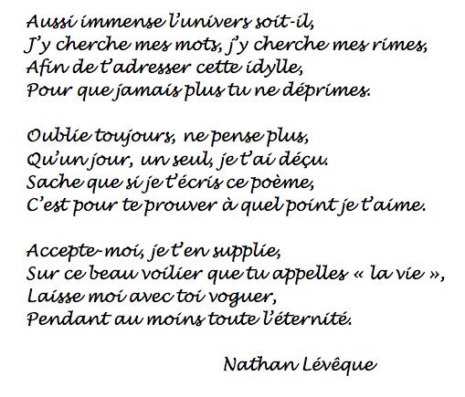 poesie lyrique