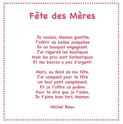 poesie maman