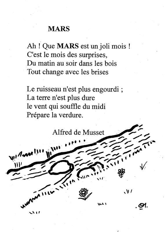 poesie mars