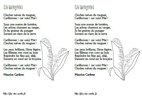 poesie muguet