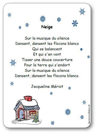 poesie neige
