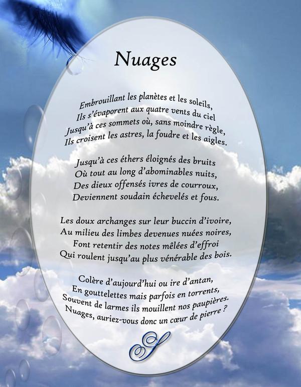 poesie nuage