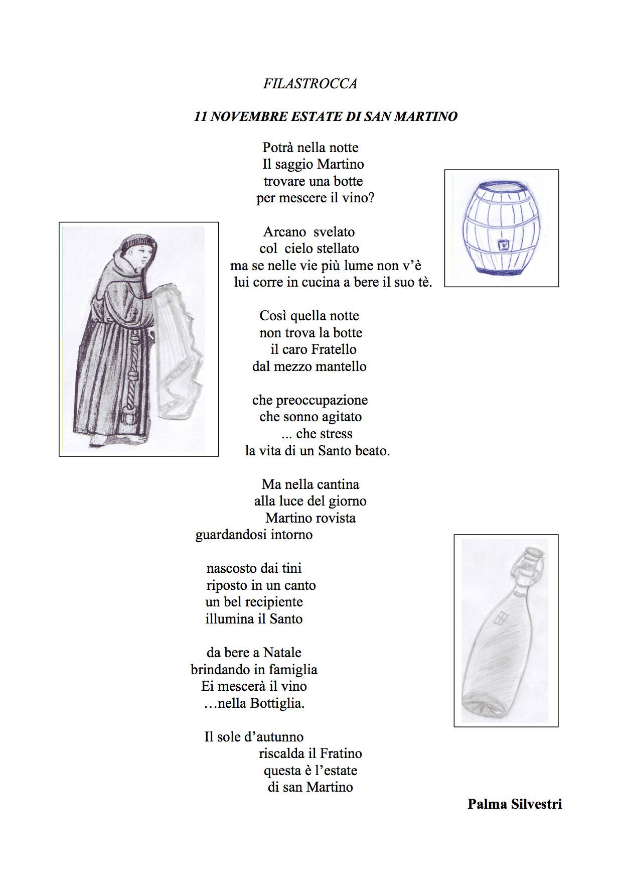 poesie o filastrocche su san martino