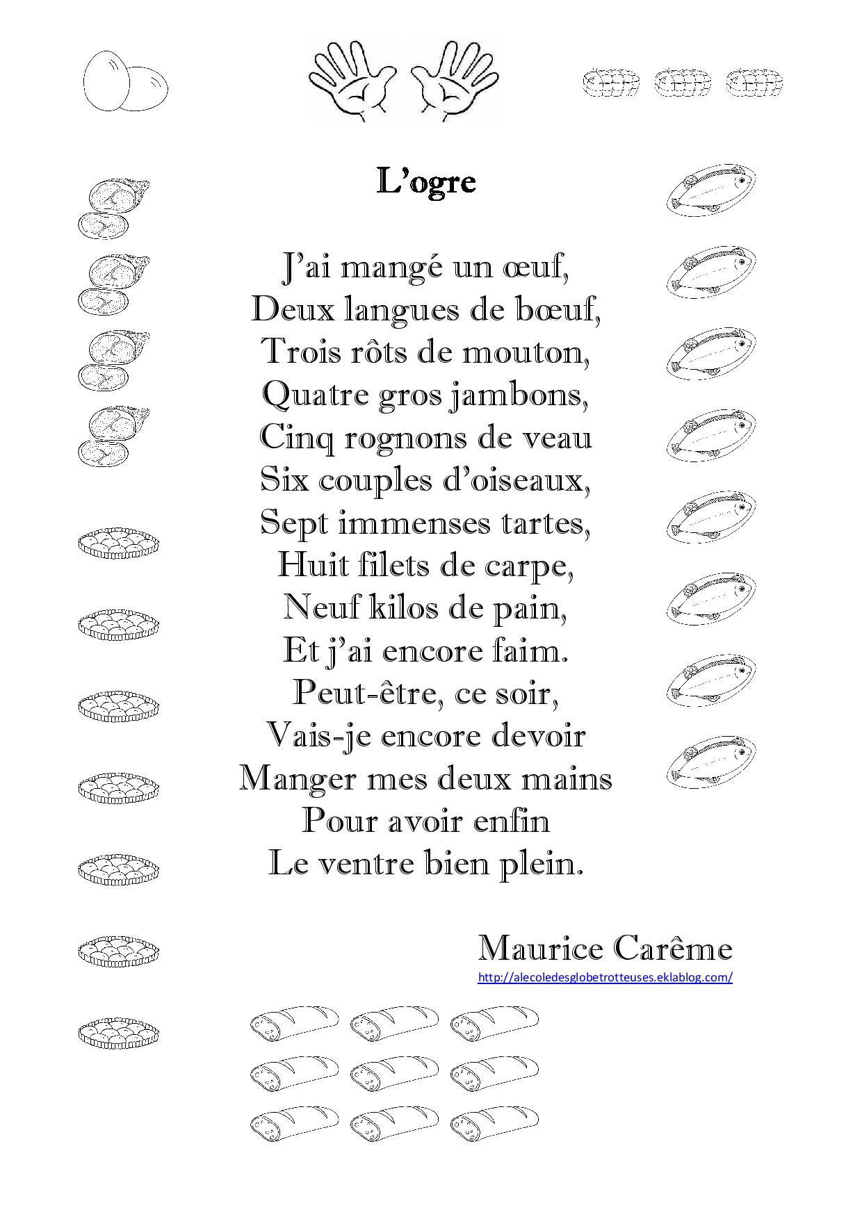 poesie ogre