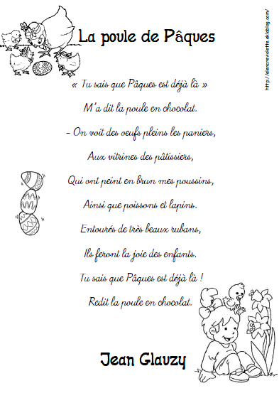 poesie paques