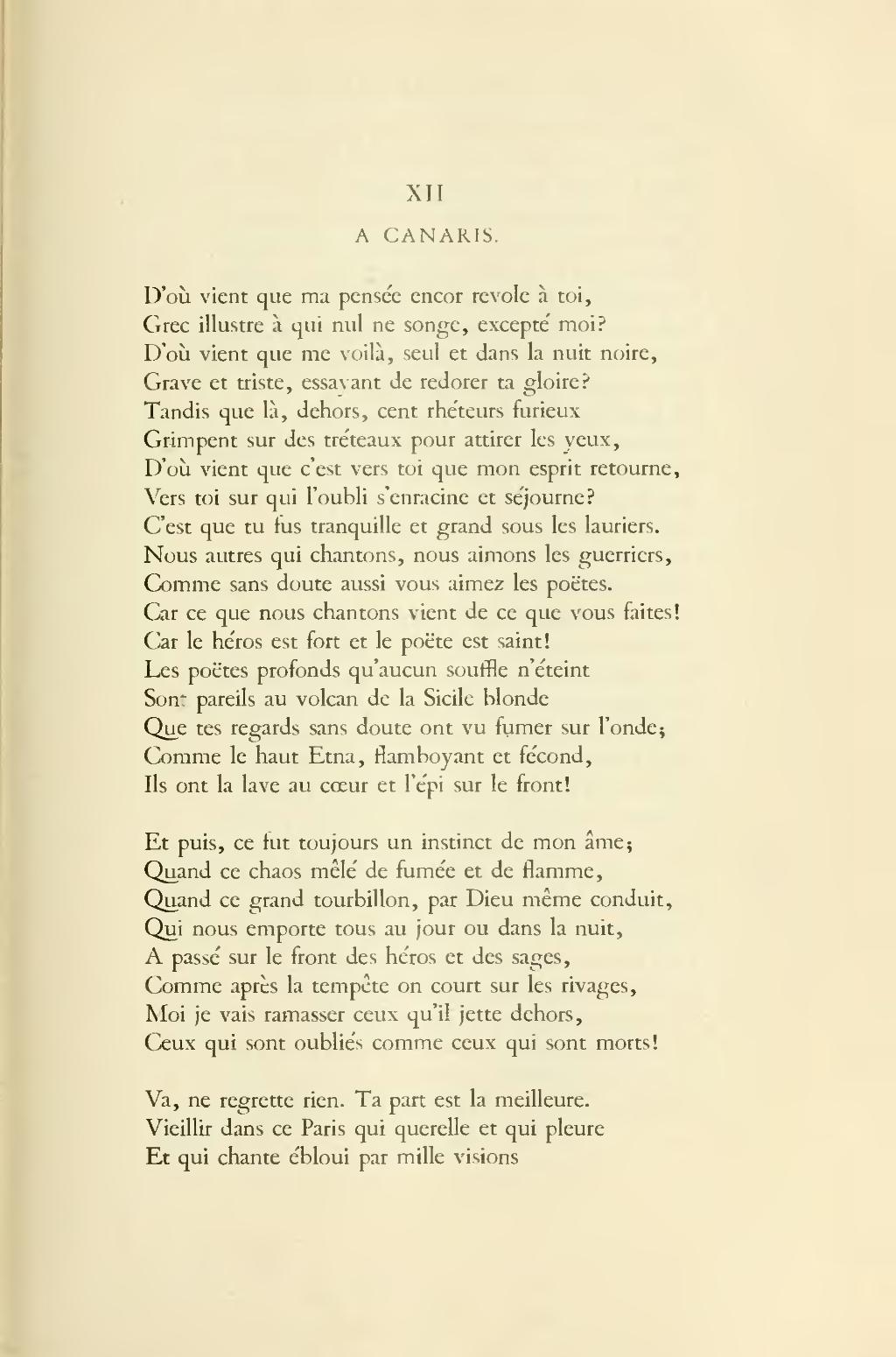 poesie querelle