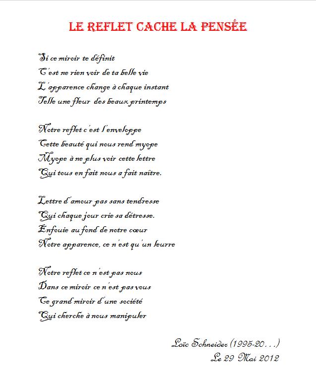 poesie qui denonce