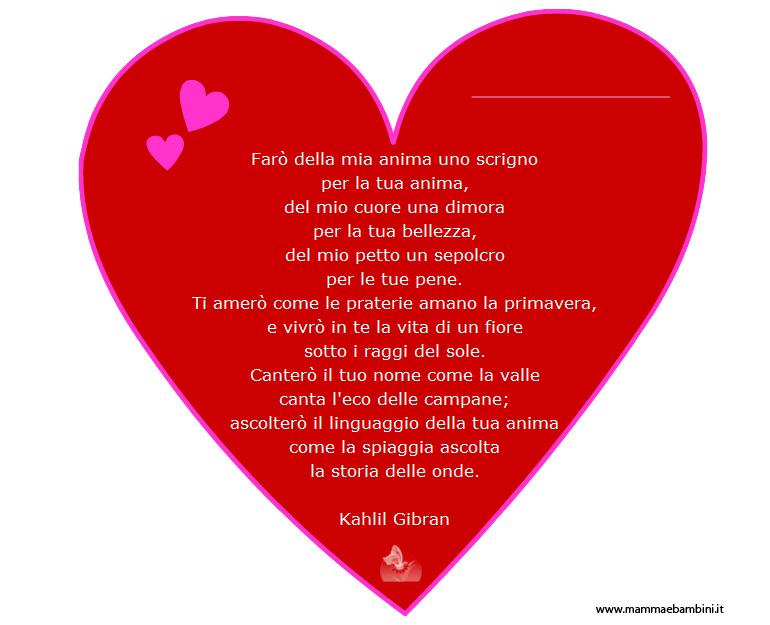 Poesie S Valentino